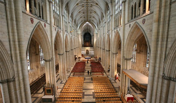 Inside the Minster